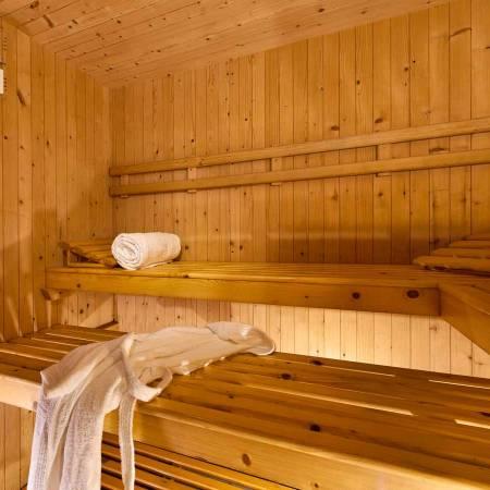 Hôtel à Bellaria avec sauna